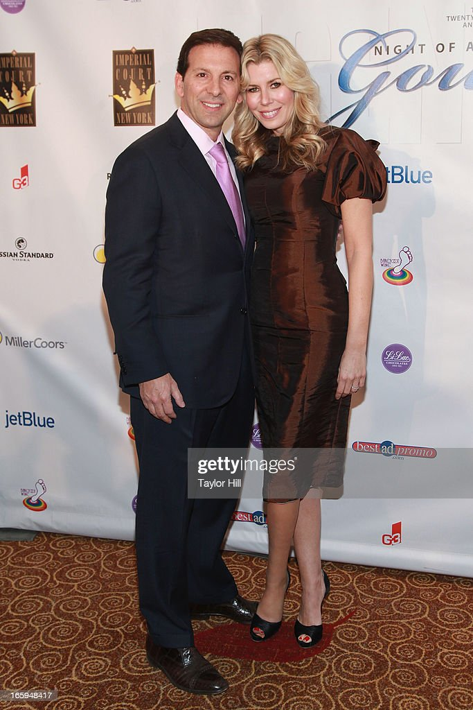 Reid Drescher and Aviva Drescher attend the 27th Annual Night Of A Thousand Gowns at the Hilton New York on April 6, 2013 in New York City.