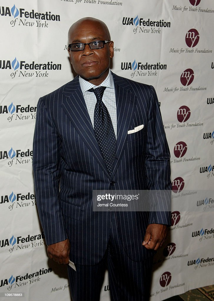 L.A. Reid during 2005 UJA Music Visionary of the Year Awards - Arrivals at The Pierre Hotel Ballroom in New York City, New York, United States.