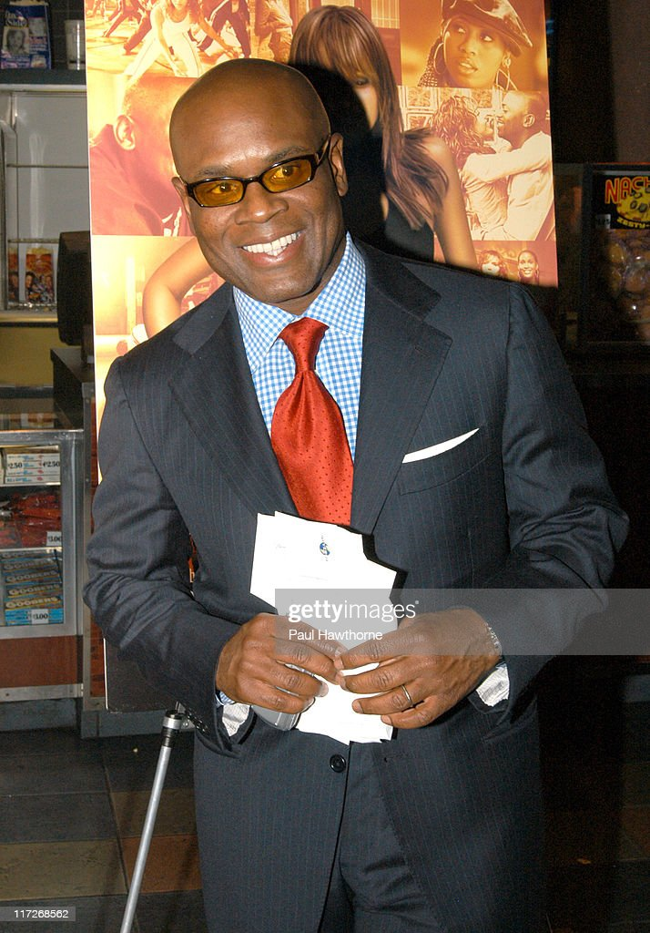 LA Reid during Honey - New York Premiere - Inside Arrivals at Chelsea West Theater in New York City, New York, United States.