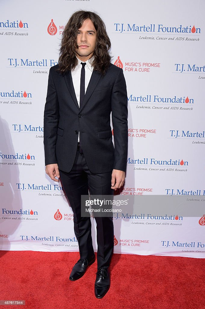 Reid Perry of The Band Perry attends the T.J. Martell Foundation's 39th Annual New York Honors Gala at Cipriani 42nd Street on October 21, 2014 in New York City.