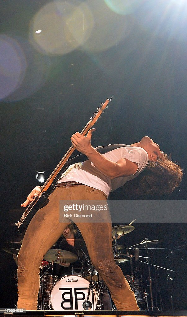 Reid Perry of The Band Perry performs during the 2013 CMA Music Festival on June 9, 2013 in Nashville, Tennessee.