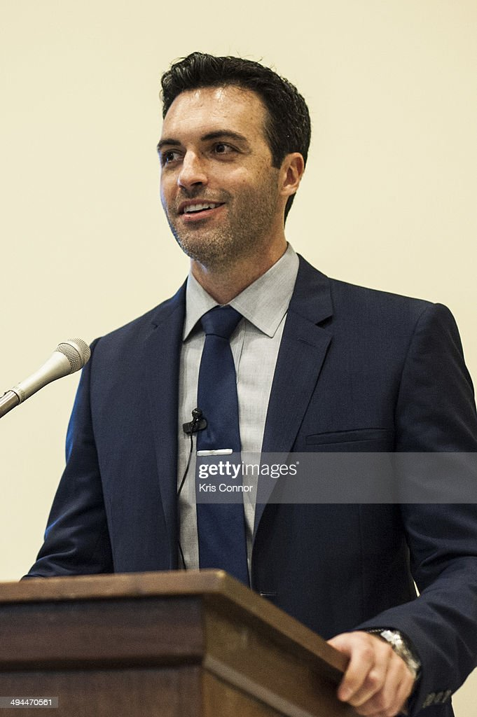 Reid Scott attends 'Visit No Laughing Matter' Congressional briefing on the risks of Seismic Airgun Blasting in the Atlantic Ocean to fisheries and...