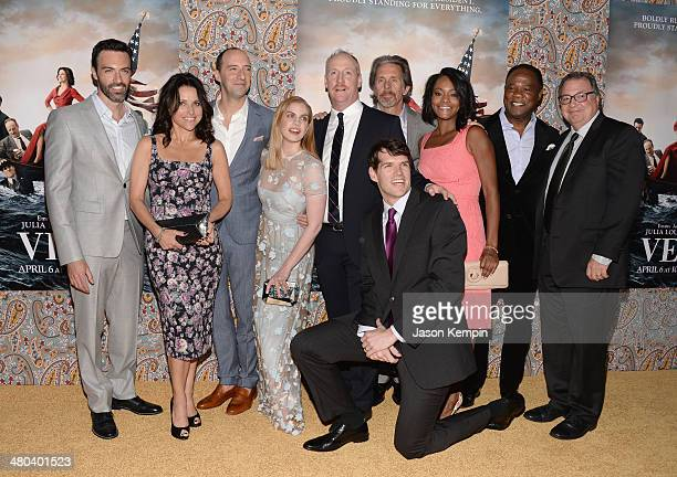 Reid Scott Julia LouisDreyfus Tony Hale Anna Chlumsky Matt Walsh Gary Cole Timothy Simons Sufe Bradshaw Isiah Whitlock and Kevin Dunn attend the...