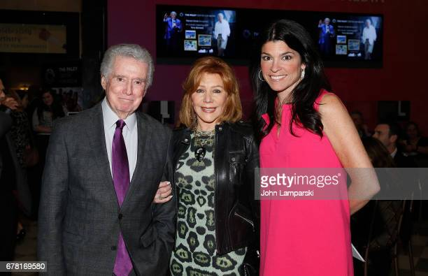 Reigis Philbin Joy Philbin and Maureen Reidy attend as Tony Bennettcelebrates 90 Years of artistry original artwork classic TV performances VIP...