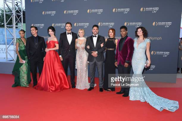 Reign Edwards Pierson Fode Jacqueline MacInnes Wood Darin Brooks Katherine Kelly Lang Don Diamont Courtney Hope Rome Flynn and Heather Tom attends...