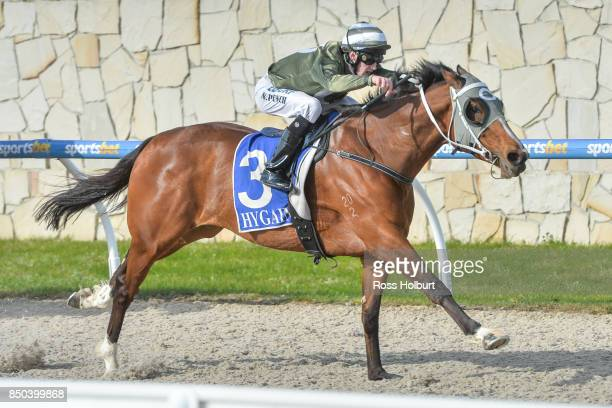 Reigning in Paris ridden by Nathan Punch wins the Pakenham Produce BM58 Handicap at Racingcom Park Synthetic Racecourse on September 21 2017 in...