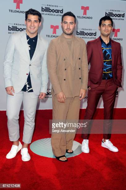 Reik attend the Billboard Latin Music Awards at Watsco Center on April 27 2017 in Coral Gables Florida