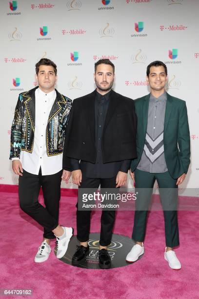 Reik attend Univision's 29th Edition of Premio Lo Nuestro A La Musica Latina at the American Airlines Arena on February 23 2017 in Miami Florida