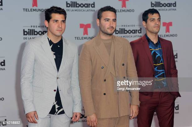 Reik attends the Billboard Latin Music Awards at Watsco Center on April 27 2017 in Coral Gables Florida