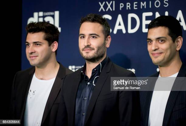 Reik attends the 'Cadena Dial' awards photocall on March 16 2017 in Tenerife Spain