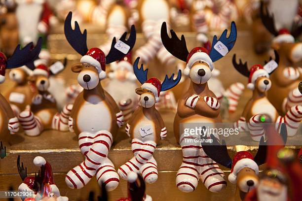 Reindeer Ornaments at Christmas Market