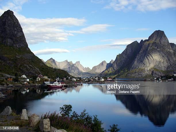 Reine Fjord