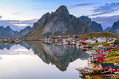 Reine village in Lofoten, Norway
