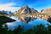 Fishing village Reine, Norway