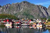 Reine village in Lofoten Islands, Norway
