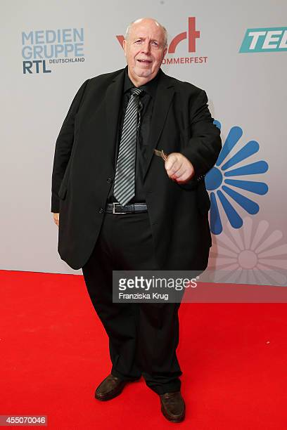 Reiner Calmund attends the VPRT Hosts Summer Party at Cafe Moskau on September 09 2014 in Berlin Germany