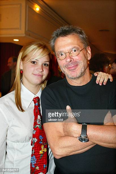 Reinhard Mey *Singer songwriter composer musician balladeerwith his daughter VictoriaLuise 2003