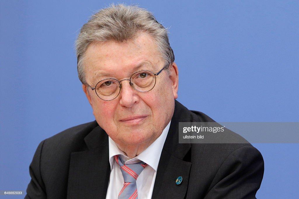 Reinhold Festge Vizepraesident des BDI PK zum Thema Zukunft Mittelstand