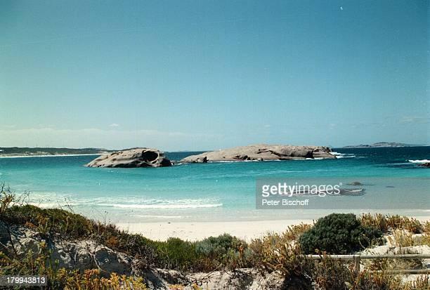 Reise Esperance/WesternAustralien/Australien Meer StrandFelsen