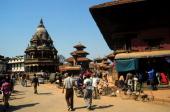 Reise Nepal Asien Patan Königspalast Durbar Square