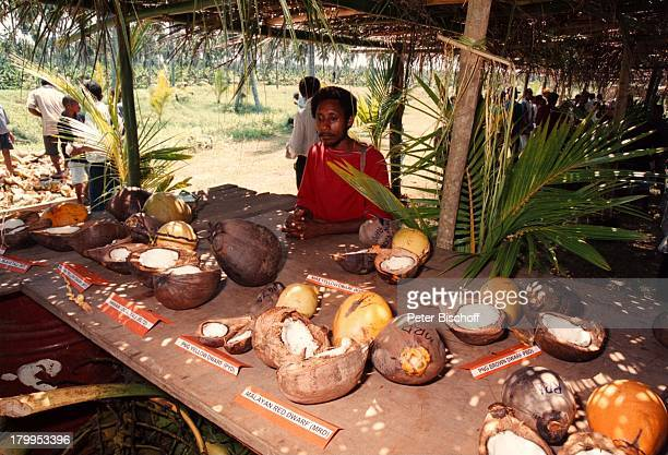 Reise Papua Neuguinea Australien Einheimische Markt