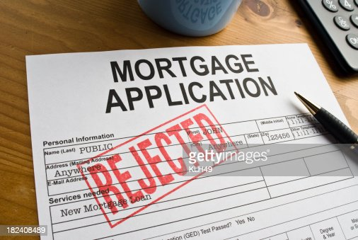 Rejected Mortgage Application