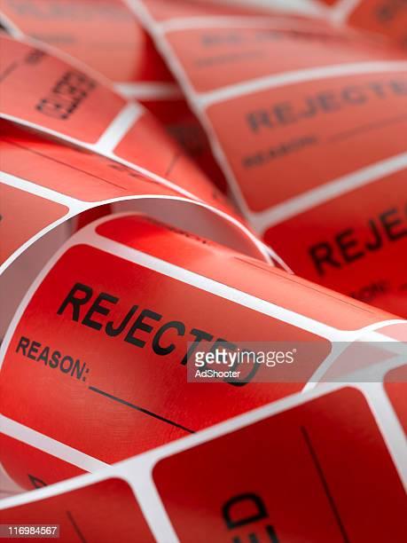 Rejected Sticker (vertical)