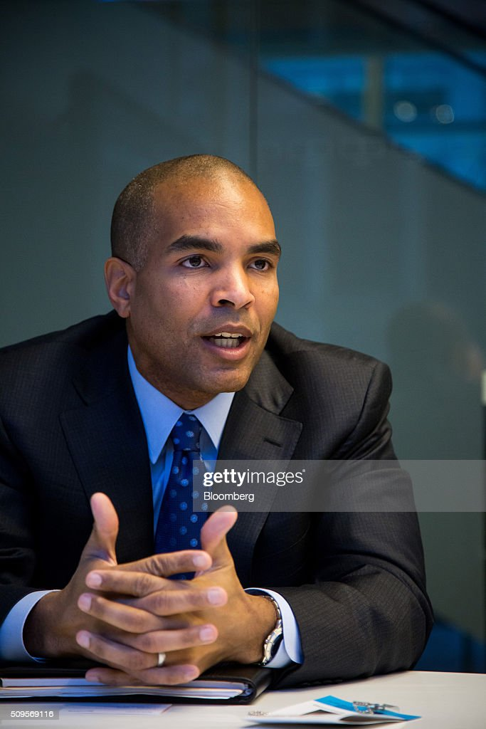 Rejji Hayes, senior vice president and chief financial officer of ITC Holdings Corp., speaks during an interview in New York, U.S., on Thursday, Feb. 11, 2016. Fortis Inc., Canadas largest utility owner, is confident it can find an investor to take a stake in ITC Holdings Corp. as part of its $6.9 billion takeover of the U.S. transmission line operator. Photographer: Michael Nagle/Bloomberg via Getty Images