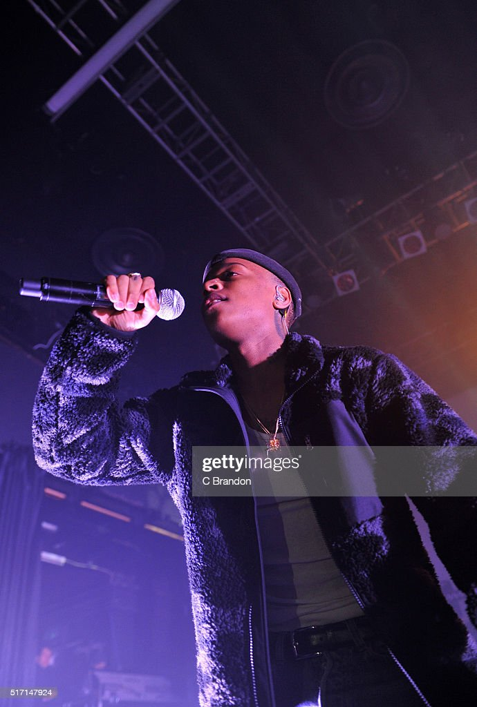 Rejjie Snow performs on stage at KOKO on March 23 2016 in London England