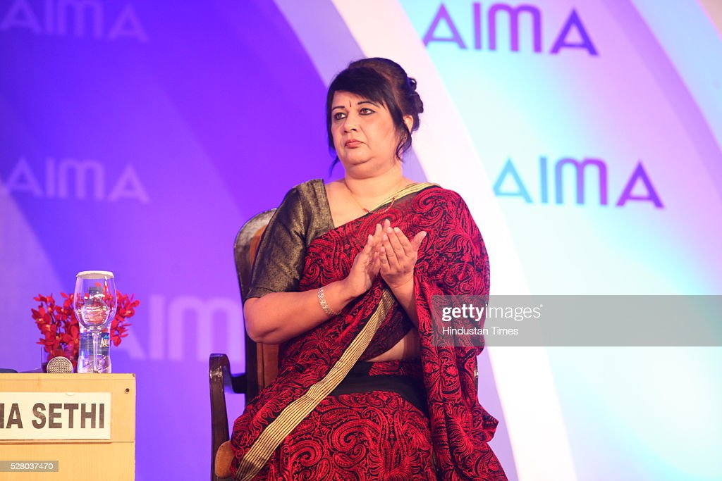 Rekha Sethi during the All India Management Association (AIMA)s Managing India Awards 2016 at Hotel Taj Palace in New Delhi, India.