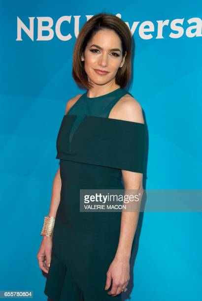 Relationship expert Dr Darcy Sterling of 'Famously Single' arrives at the NBC Universal Summer Press Day at the Beverly Hilton on March 20 Beverly...