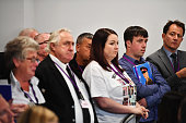 Relatives and friends of military personnel killed during the Iraq War attend a news conference after Sir John Chilcot presented The Iraq Inquiry...