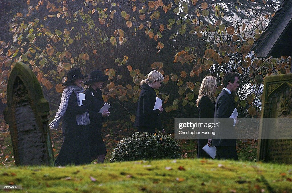 Relatives of Lord Lichfield former wife Leonora Countess of Lichfield partner Lady Annunziata Asquith daughters Lady Eloise Anson and Lady Rose Anson...