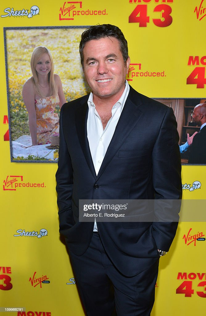 Relativity Media President Tucker Tooley attends Relativity Media's 'Movie 43' Los Angeles Premiere held at the TCL Chinese Theatre on January 23, 2013 in Hollywood, California.