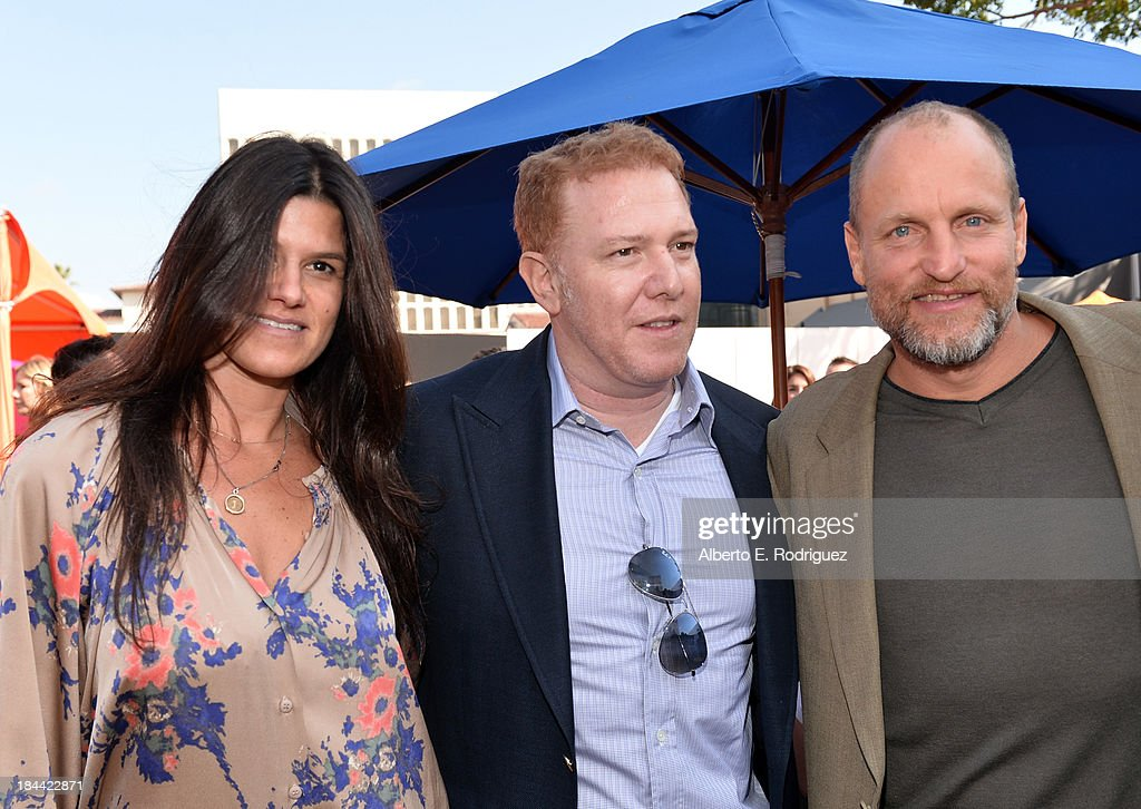 Relativity Media's Robbie Brenner, <a gi-track='captionPersonalityLinkClicked' href=/galleries/search?phrase=Ryan+Kavanaugh&family=editorial&specificpeople=4275646 ng-click='$event.stopPropagation()'>Ryan Kavanaugh</a> and actor <a gi-track='captionPersonalityLinkClicked' href=/galleries/search?phrase=Woody+Harrelson&family=editorial&specificpeople=208923 ng-click='$event.stopPropagation()'>Woody Harrelson</a> attend the premiere of Relativity Media's 'Free Birds' after party at the Westwood Village Theatre on October 13, 2013 in Hollywood, California.