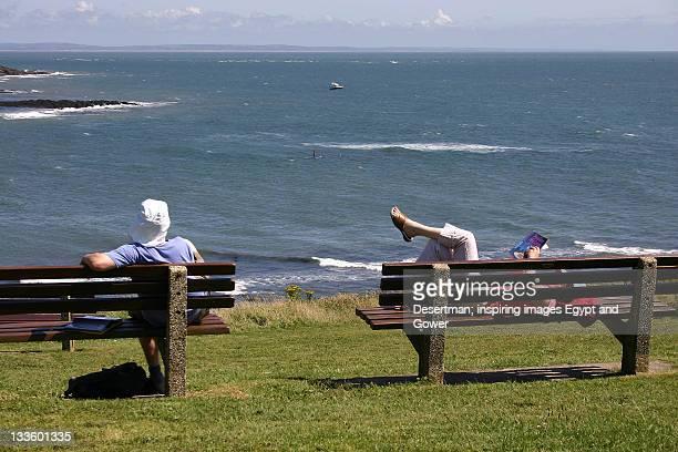 Relax Langland cliffs