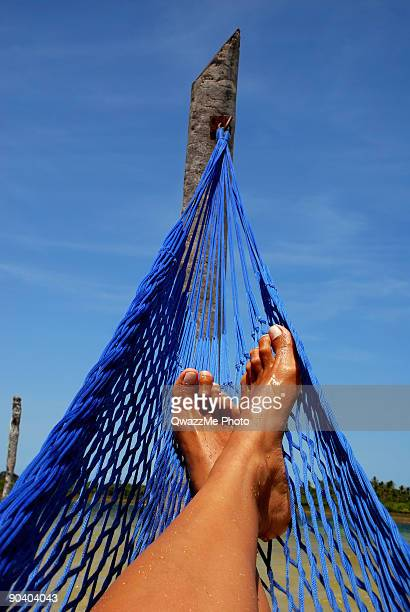 Relax - stressing out on a hammock