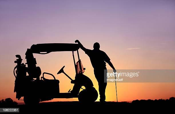 Entspannte-Golfspieler