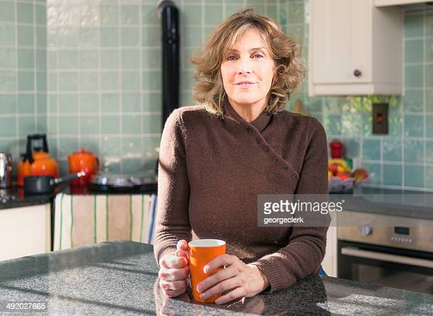 Relaxed kitchen portrait