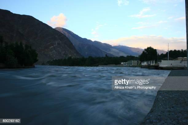 Relaxing at Gilgit River