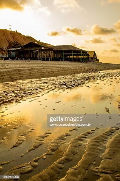 Relaxing brazilian beach
