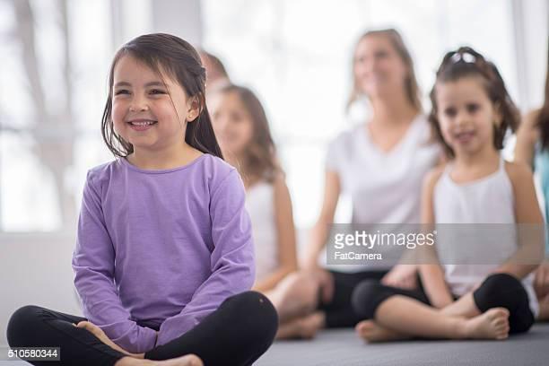 Détendre dans un cours de Yoga