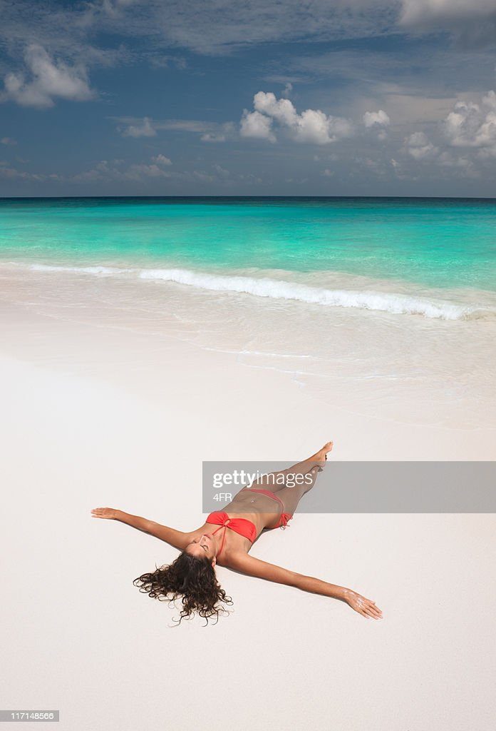 Relaxing in Paradise : Stock Photo
