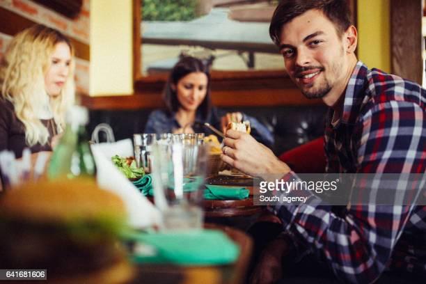 Entspannung im restaurant