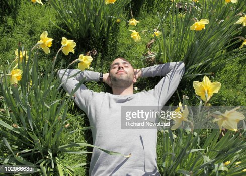Relaxing in the Park : Stock Photo