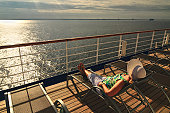 A Relaxing Morning at Sea
