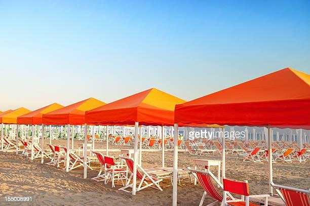 Relajarse en la hermosa playa