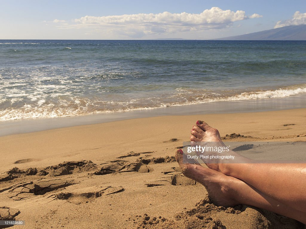 Relaxing on vacation : Stock Photo