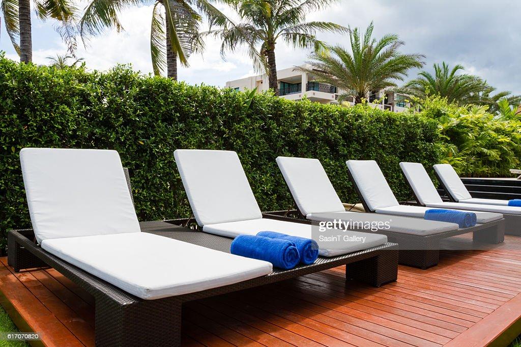 Relaxing seats : Stock Photo