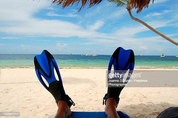 Relaxing snorkel